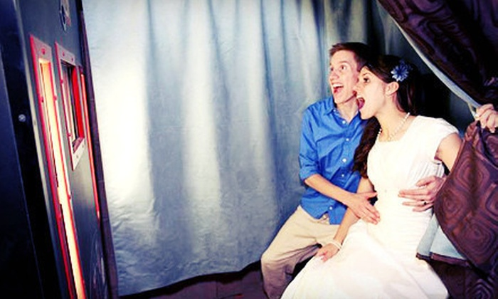 Photogenic - Queen Creek: Four-Hour Photo-Booth Rental with Prints, or Three-Hour Rental with Optional Prints from Photogenic (Up to 57% Off)