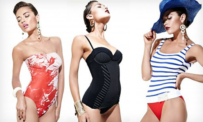 South Beach Swimsuits: $49 for $100 Worth of Designer Swimsuits and Beachwear Online from South Beach Swimsuits