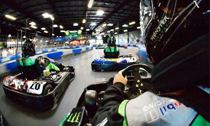 RPM Indoor Kart Racing - Sacramento: Adult or Junior Membership or a Kart-Racing Package for Four with Pizza at RPM Indoor Kart Racing (Up to 56% Off)
