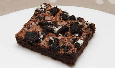 Brownies with Drinks for Two or Four at The Brownie Bar, Two Locations