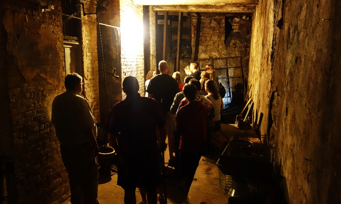 Beneath The Streets - Seattle: New Tour of Historic Pioneer Square's Underground for Two or Four from Beneath The Streets (Up to 53% Off)
