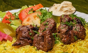 Mijana: Lebanese Cuisine for Lunch or Dinner at Mijana (Up to 49% Off). Two Options Available.