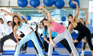 Shape It Up: Four Weeks of Unlimited Aerobics Classes at Shape it up health club (64% Off)