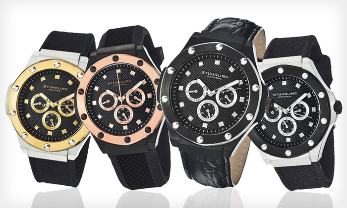 Stührling Original: Stuhrling Original Men's Apocalypse Quartz Multifunction Watch (Up to 87% Off). 11 Options Available. Free Shipping.