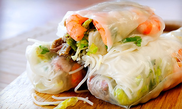 Bún - International District: Vietnamese Cuisine at Bún (Up to 55% Off). Two Options Available.