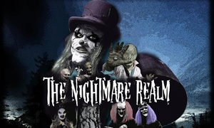 The Nightmare Realm: The Nightmare Realm: Two (2) Fast Pass Tickets, 1 - 11 October in Dublin, 8 - 11 October in Cork (Up to 25% Off)