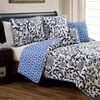 5-Piece Reversible Quilt Set