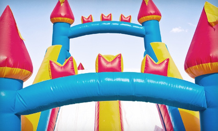 Affordable Inflatables of Kansas City - Meadowbrook Heights: Bounce Houses or Obstacle Courses from Affordable Inflatables of Kansas City (Up to 60% Off). Two Options Available.