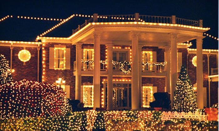 Ground Up Services - Ground Up Services: Christmas-Light Installation and Removal from Ground Up Services (Up to 64% Off). Four Options Available.