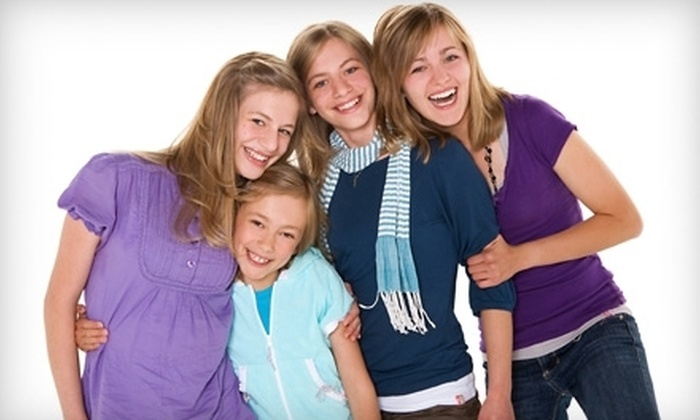 Life Photo Studios - Symons Valley: $39 for a Group-Photo-Shoot and Print Package for Up to 15 People at Life Photo Studios ($138 Value)