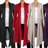 Women's Knee-Length Hacci Cardigan (Also Available In Plus Sizes)