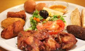 """Le Pain de Sucre: Assiette """"Découverte"""" à partager avec 2 Caïpirinha et 2 desserts au choix à 42,90 € au restaurant le Pain de Sucre"""