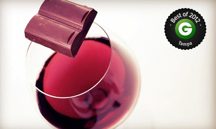 Tarpon Springs Castle Winery - Tarpon Springs: $39 for a Wine and Chocolate Tasting with Keepsake Glasses and Wine for Two at Tarpon Springs Castle Winery ($95 Value)