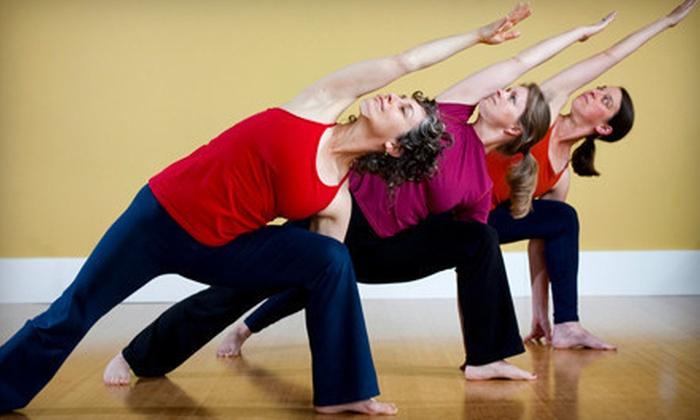 Motion Center Yoga - Upper South Providence: 5 or 10 Yoga Classes at Motion Center (51% Off)