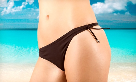 One or Two Brazilian Waxes at Lush Wax Boutique (Up to 53% Off)