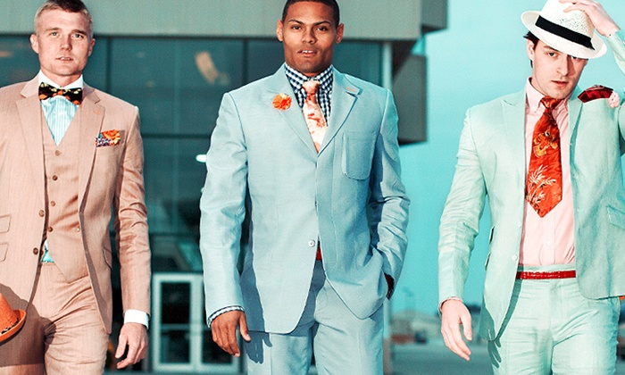 Catou - Carmel: One Standard, Premium, or Ultra Premium Custom Three-Piece Suit from Catou (Up to 62% Off)