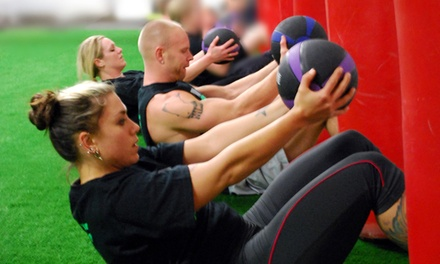 10 or 20 Cross-Training or Cardio Boxing Classes at AX Fitness (Up to 78% Off)