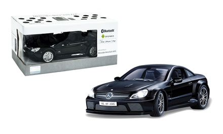 App-Controlled Mercedes-Benz SL65 Toy Car in Black