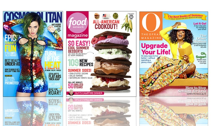 Hearst Magazines: $5 for a One-Year Magazine Subscription from Hearst Magazines (Up to $15 Value). 19 Titles Available.