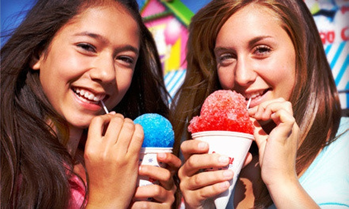 Snowflakes - Multiple Locations: $5 for $10 Worth of Shaved Ice, Hot Dogs, and Treats at Snowflakes