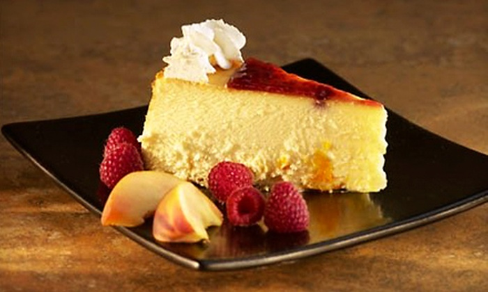 Stockbridge's Gourmet Cheesecakes & Cafe - Shelton: Café Food and Cheesecake at Stockbridge's Gourmet Cheesecakes & Cafe (Half Off). Two Options Available.