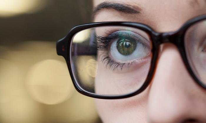 Vision World of Medford - North Bellport: Eye Exam with Glasses or Contacts at Vision World of Medford (Up to 84% Off)