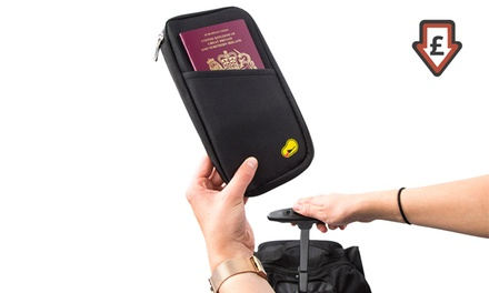 One, Two, Three or Five Travel Document and Passport Holders