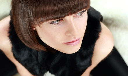 Haircut with Rosemary Scalp Massage and Optional Highlights or Color at Pure Eco-Wellness Salon and Spa (Up to 38% Off)