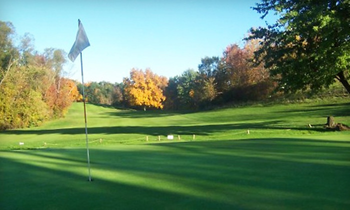 Arrowhead Golf Course - Garland: 18-Hole Round of Golf with Cart Rental for Two or Four at Arrowhead Golf Course in Spencerport (Up to 56% Off)