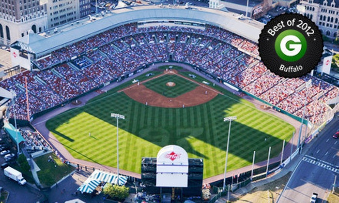 Buffalo Bisons - Coca-Cola Field: Buffalo Bisons Baseball Game for One, Two, or Four at Coca-Cola Field (Up to 58% Off)