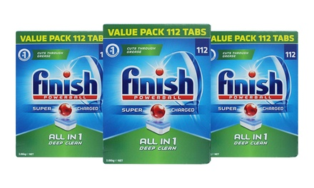 $59.95 for 336 Finish All in One Powerball Deep Clean Dishwasher Tablets (Dont Pay $132)