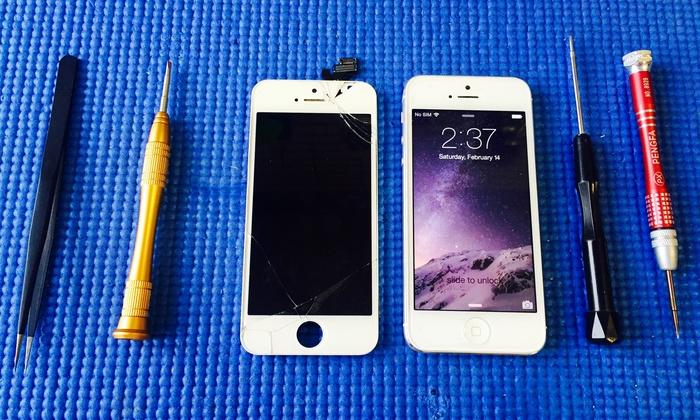 Collado Repairs - Perth Amboy: $75 for $150 Worth of iPhone 5, 5c or 5s Cell Phone Repair — ColladoRepairs