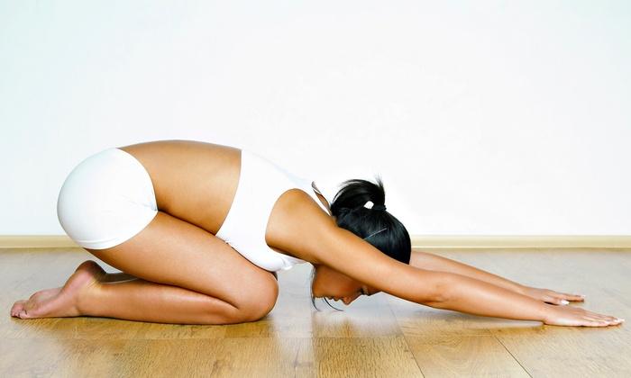 Full Bore Yoga - Metairie: Five Yoga Classes at Full Bore Yoga (64% Off)
