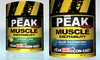 Peak 400 Muscle Excitability Supplement: 30-Servings Peak 400 Muscle Excitability Supplement. Multiple Flavors.