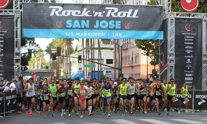 cc4cd45a5 Rock n' Roll Marathon Series - Rock 'n' Roll Marathon San Jose | Groupon