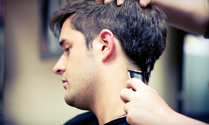 The Atascocita Barbershop - Pinehurst Center: One or Two Men's Haircuts with Shoulder Massage and Optional Shave at The Atascocita Barbershop (Up to 59% Off)