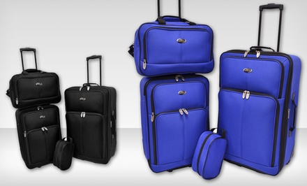 Traveler's Choice 4-Piece Luggage Sets $69.99 Shipped