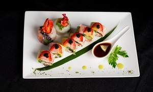 Caviar Sushi: Voucher Valid on the Whole Evening Menu for Two or Four at Caviar Sushi Restaurant (Up to 51% Off)