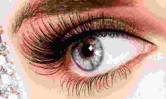 Glow Beauty Bar - Marietta: Light or Full Eyelash Extensions with Option for Touch-Up Visit at Glow Beauty Bar (Up to 64% Off)