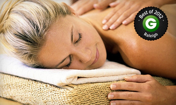 The Bannard Center - Cary: One 60-Minute, One 90-Minute, or Three 60-Minute Massages at The Bannard Center (Up to 67% Off)