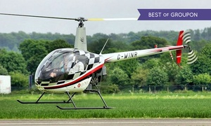 Heli Air Ltd: Introductory Helicopter Flying Lesson with Time at Controls with Heli Air, Seven Locations (40% Off)