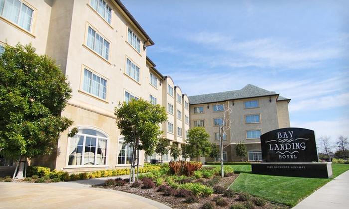 null - San Francisco: Stay for Two at Bay Landing Hotel in Burlingame, CA