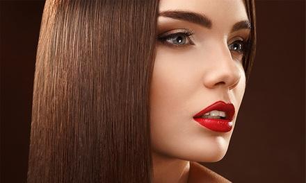 Sesión de peluquería con corte y tratamiento de queratina por 44,90 € o dos por 84,90 €