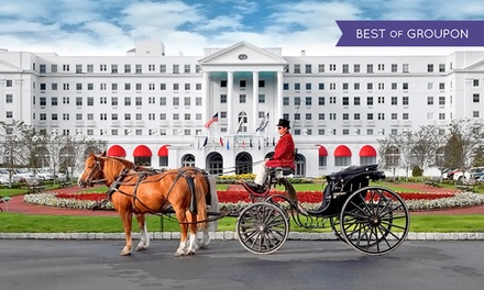 Groupon Deal: Stay with Daily $20 Slot Credits at The Greenbrier in White Sulphur Springs, WV. Dates into May.