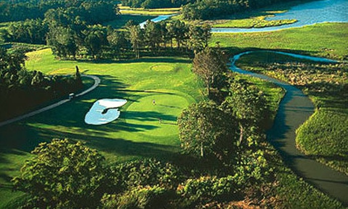 Riverfront Golf Club - Suffolk: $55 for Three Golf Rounds, Plus, Range Balls and Cart at Riverfront Golf Club (Up to $192.50 Value)