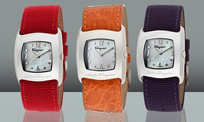 Salvatore Ferragamo Women's Watches: Salvatore Ferragamo Women's Watches. Multiple Styles Available. Free Shipping and Returns.