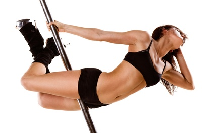 1 Intro to Pole or 3 Pole or Chair Dancing Classes at Pole Position Dance And Fitness, LLC (Up to 83% Off)