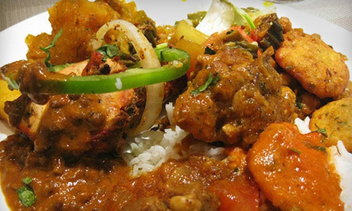 Garam Masala - University District: Indian and Pakistani Dinner with Appetizers and Entrees for Two or Four at Garam Masala (Up to 57% Off)