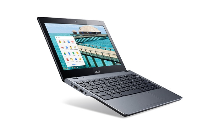 "Acer 11.6"" Chromebook with 1.4GHz Dual-Core Processor: Acer 11.6"" Chromebook with 1.4GHz Dual-Core Processor, 2GB RAM, and 16GB Solid State Drive (Refurbished)"