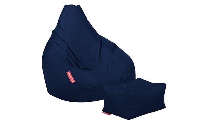Pleasant Big Bertha Highback Beanbag Groupon Goods Uwap Interior Chair Design Uwaporg